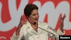巴西总统迪尔玛•罗塞夫再次当选