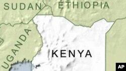 Ramani ya Kenya.