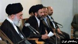 ابراهیم رئیسی در کنار رهبر جمهوری اسلامی ایران
