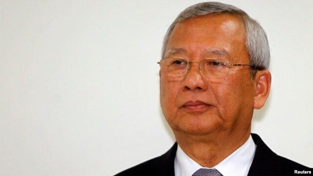 Thailand's new caretaker prime minister, Niwatthamrong Boonsongphaisan, Bangkok May 7, 2014