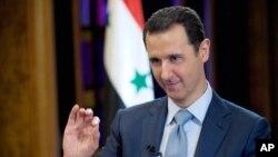 바샤르 알아사드 시리아 대통령 (자료사진)