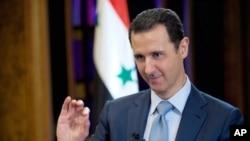 Bashar al-Assad dijo que estaría abierto a establecer conversaciones de paz.