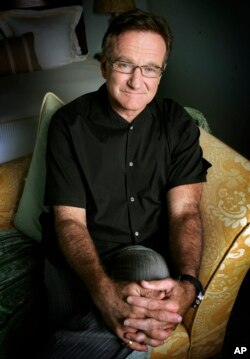 Robin Williams, a popular televison and movie star, killed himself in 2014. (AP PHOTO)
