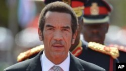 """President Ian Khama says he didn't claim to be representing Botswana's government and that the foreign ministry is free to """"ignore Donald Trump's present and past disrespectful tendencies."""""""