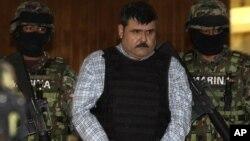 """Jorge Eduardo """"El Coss"""" Costilla fue capturado por la Marina de México en el puerto de Tampico."""