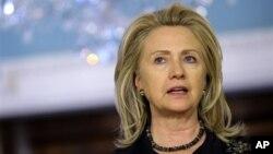 Menteri Luar Negeri AS Hillary Clinton (Foto: dok)