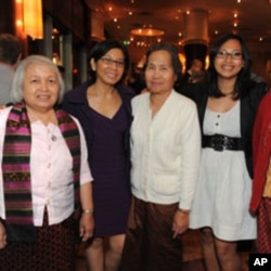 "Cambodian survivors at the opening night of ""Extraordinary Chambers""."