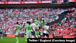Wasan da Ingila ta lallasa Najeriya da ci 2-1 a karshen makon da ya gabata a filin Wembley