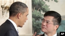 3月9日奥巴马正式提名骆家辉为驻华大使