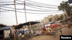 Khu Gurgaon, ngoại ô New Delhi