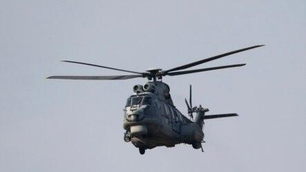 ឧទ្ធម្ភាគចក្រប្រភេទ AS-532AL របស់កងកម្លាំងដែនអាកាសតួកគីចាកចេញពីមូលដ្ឋានទ័ព Incirlik ពីក្រុង Adana ភាគខាងត្បូងប្រទេស។ តួកគីទម្លាក់គ្រាប់បែកលើគោលដៅក្រុមឧទ្ទាម Kurds។