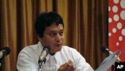 """""""98备忘录""""组织在缅甸的协调员梭温"""