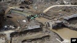 Prefektur Miyagi di Jepang setelah terkena gempa bumi dan tsunami 2011. (Foto: Dok)