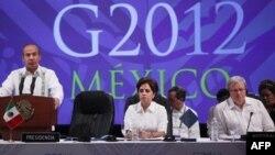 Нарада в Мехіко міністрів закордонних справ «Великої двадцятки» 20 лютого ц.р.