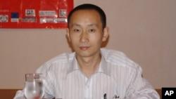 :中国网络作家昝爱宗(资料照片)