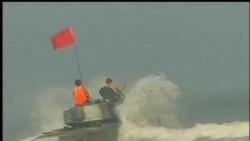 2012-04-22 美國之音視頻新聞: 中俄舉行聯合海軍演習