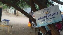 Dibian Asngar de la Ligue tchadienne des droits de l'homme au micro de Bagassi Koura