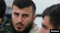 FILE - Zahran Alloush was killed in a December airstrike.