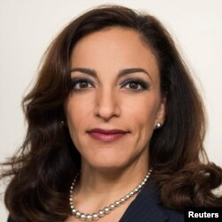 South Carolina Republican congressional candidate Katie Arrington was injured Saturday in a car accident.