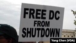 政府关闭第九天