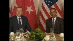 Obama Erdoğan Görüşmesi