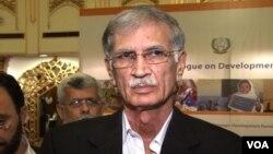 خیبرپختونخواہ کے وزیراعلیٰ پرویز خٹک