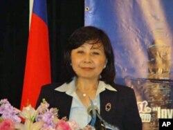台湾行政院经济建设委员会主任委员刘忆如