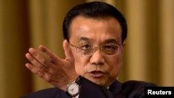 리커창 중국 총리 (자료사진)