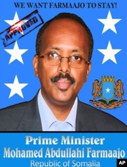 Mohamed Abdullahi Mohamed's supporters set up a Facebook page to urge the prime minister to stay in office.