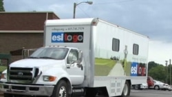 Mobile Classrooms Bring English Lessons to Immigrants