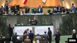 سخنرانی رحمانی فضلی وزیر کشور در مجلس شورای اسلامی