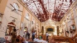 Environ 290 personnes tuées et 500 blessées dans les attentats suicide au Sri Lanka