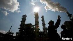 Luiziana shtatidagi neftni qayta ishlash inshootida