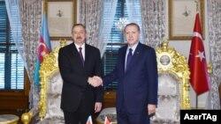 Ilham Əliyev və R.T Erdoğan
