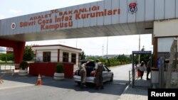 터키 이스탄불 외곽의 실리브리 교도소 입구. (자료사진)