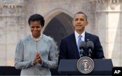 Le président Obama et son épouse à Mumbai