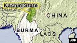 Giao tranh giữa đạo quân độc lập Kachin và quân đội chính phủ Miến Ðiện nổ ra trong bang Kachin, nằm về hướng bắc Miến Ðiện