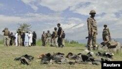 Militer Pakistan melakukan operasi di distrik Khyber Pakhtunkhwa (foto: dok). Operasi militer Pakistan di distrik Khyber menewaskan hampir 100 militan.
