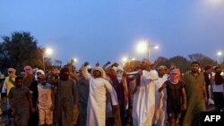 Omanda ordu şəhərin meydanını nümayişçilərdən təmizləyib