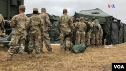 US Army Sets Up Camp on the US Southern Border
