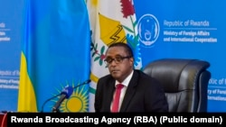 Ministri w'ububanyi n'amahanga w'u Rwanda Vincent Biruta