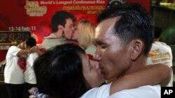 Svetom Valentinu u čast - natjecanje u dugom ljubljenju