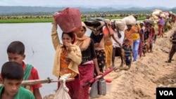 Rohingiya exodus from Myanmar