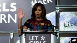 Prva dama Michelle Obama je aktivno uključena u program koji se zalaže za obrazovanje za sve djevojčice u svijetu
