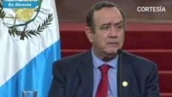 Alejandro Giammatei sobre fiscal