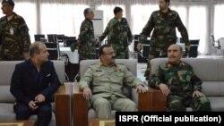 پاکستانی فوج کے چیف آف جنرل اسٹاف لفٹیننٹ جنرل بلال اکبر دورہ افغانستان کے موقع پر