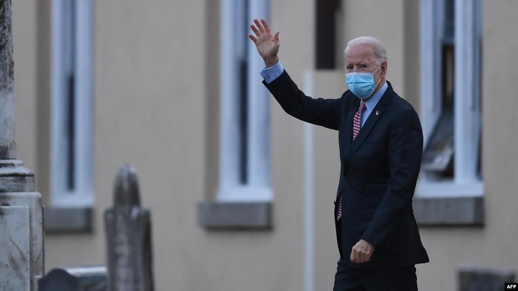 အေမရိကန္ ေရြးေကာက္ခံ သမၼတ Joe Biden။