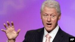 Bill Clinton dio una entrevista al programa Good Morning America de la ABC.