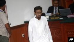 Umar Patek, kẻ đã giúp chế tạo xe cài bom nhắm tấn công khủng bố một hộp đêm trên đảo Bali năm 2002 làm 202 người thiệt mạng