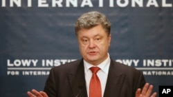 پترو پوروشنکو رئیس جمهوری اوکراین